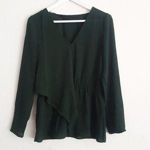 Zara Basic Long sleeve Blouse